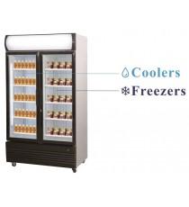 Réfrigérateur Congélateur 2x466L