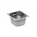 Bac gastronorme inox GN 1/6 162 x 176 mm