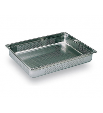 Bac gastronorme inox GN 1/1 perforé 325x530mm