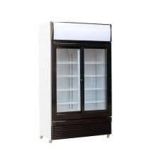 Armoire à boisson 2 portes coulissantes vitrées 780L