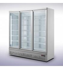 Armoire réfrigérée 3 portes 1530L - Positive vitrée