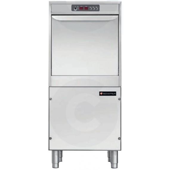 LAVE VAISSELLE DOUBLE PAROI A COMMANDE ELECTRONIQUE COMPATIBLE POUR PLATEAUX 600x400